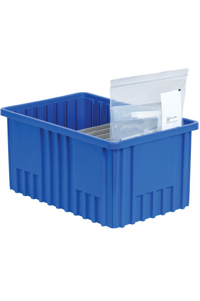 Bins for RFID Freezer solutions used for healthcare and life science inventory management