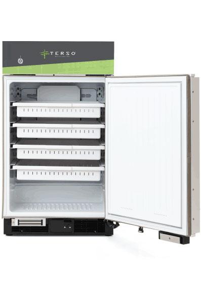 Compact RFID Refrigerator open door