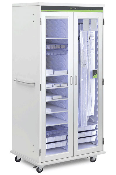Large RFID Cabinet for inventory management in healthcare and life science