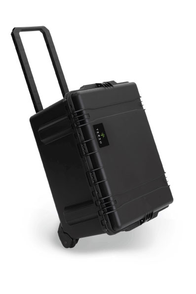 Large RFID Mobile Case for tracking inventory in the field