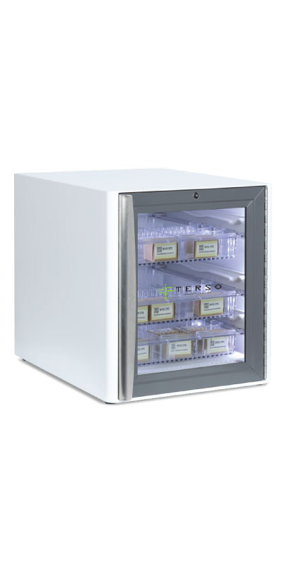 Secure Countertop Cabinet for inventory management
