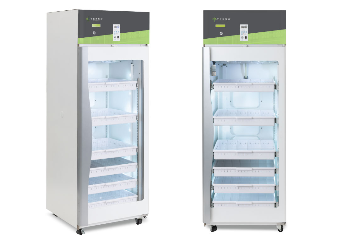 The large rfid refrigerator has secure access to keep all of your cold chain items under lock and key. Track products in real time and have total visibility of your inventory. See the large RFID refrigerator at HIMSS 2020