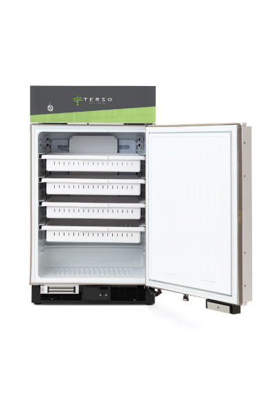 Compact RFID Refrigerator for inventory management for high-value products in healthcare and life science industries