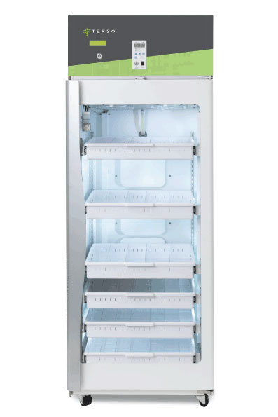 Large RFID Refrigerator used for inventory management