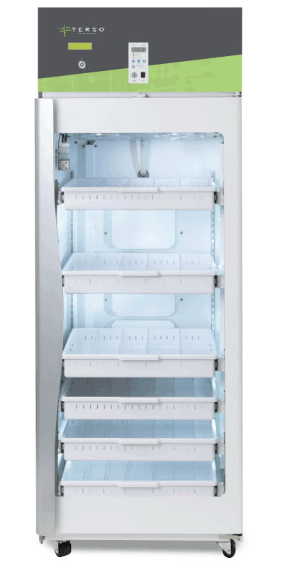 Large RFID Refrigerator for inventory management
