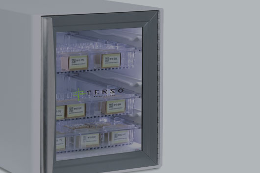 Countertop RFID Cabinet managing smaller, high-value inventory in a hospital, lab, dental office, or pharmacy