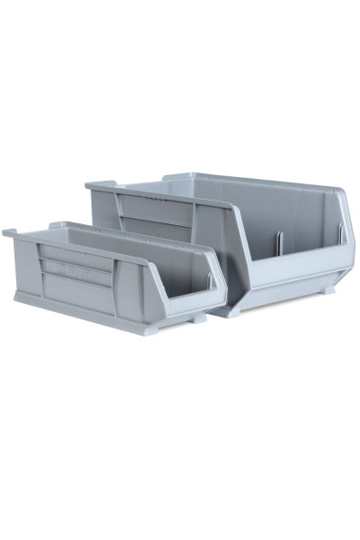 ULT RFID Freezer various sized bins for maintaining inventory of various sizes