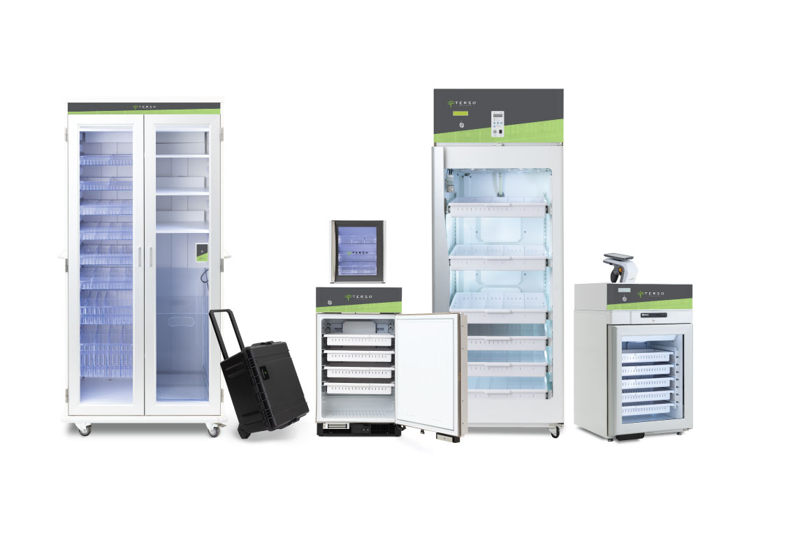 RAIN RFID cabinets, refrigerators, freezers, mobile, and read points to fit any workflow or supply chain